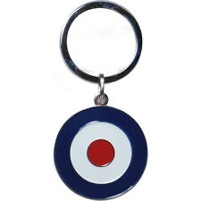 MOD Vespa Metal Keyring Target Enamel -  Keychain Cool Scooter Bike Retro Keys