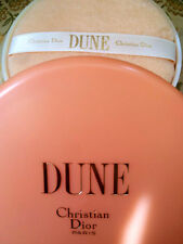 100%AUTHENTIC HUGE RARE DIOR DUNE VINTAGE PERFUMED TALCUM DUSTING BODY POWDER