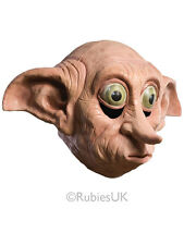 Deluxe Dobby Mask Harry Potter Character Fancy Dress Party Accessory Halloween