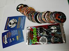 Spawn Spogz series 1 complete set of 54 pogs + wrapper