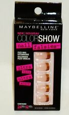 Maybelline Color Show Nail Falsies Self Adhesive Nail FRENCH REVOLUTION #30 24ct