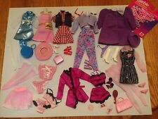 BARBIE FASHION AVENUE CLOTHES ACCESSORIES  DRESSES LINGERIE LOT SALE!
