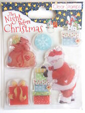 The Night Before Christmas Clear Stamps - Santa With Gifts - sack presents