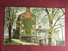 Perth Amboy New Jersey N. J. Vintage 1910's Postcard Old Stone Castle