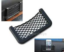 Adhesive Car Storage Net Seat Side Back Bag Phone Hold Holder Pocket Organiser
