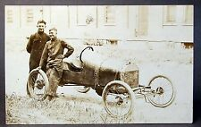 c. 1910 vintage RACE CAR Memphis Missouri RPPC Westphal Real Photo postcard #1 *