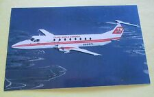 Trans World Express Beech 1900 N6687L Aircraft Postcard