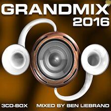 BEN LIEBRAND - GRANDMIX 2016 3 CD'S 102 TRACKS MIXED BY BEN LIEBRAND !