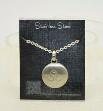 Stainless Steel Silver Tone Leo Zodiac Pendant Necklace MY DAILY HOROSCOPE Scan