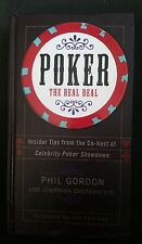 Poker: The Real Deal by Phil Gordon  - 1st Edition Hardcover