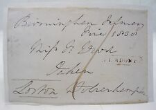 ROBERT KING VISCOUNT LORTON ROSCOMMON 19th CENTURY SIGNED ELMDON PENNY POST*