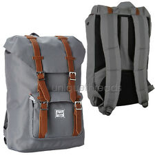 HERSCHEL SUPPLY CO. Gray LITTLE AMERICA BACKPACK