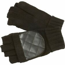 Casual Outfitters™ Men's Convertible/Fingerless Black Winter Gloves Mittens