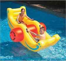Swimline Inflatable Kids Water Swimming Pool Floating Float Raft Seesaw Rocker