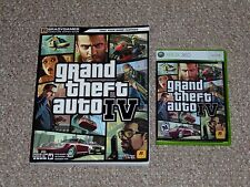 Grand Theft Auto IV Xbox 360 Complete with Bradygames Strategy Guide