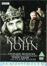 The Life and Death of King John BBC Shakespeare Collection 1984 Leonard Rossiter