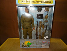 Action Figure 1/6 Ultimate Soldier US 3rd Infantry Division  21st Century Toys