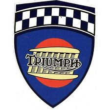 TRIUMPH Sticker 84mm x 64mm ( ONE PAIR ) une paire