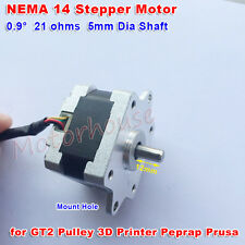 2-Phase 4-Wire Nema 14 Stepper motor for 5mm pulley RepRap Prusa 3D printer