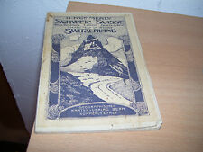 kleine Relief Karte der Schweiz Suisse H. Nümmerly & Frey Bern