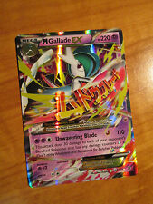 NM MEGA Pokemon M GALLADE EX Card ROARING SKIES Set 35/108 XY X and Y Ultra Rare
