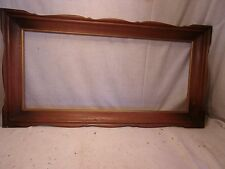 Vintage MID CENTURY MAPLE  frame 36 1/2 x 19 1/2  holds 31 1/2 x 14 1/2