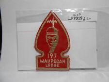 WAUPECAN LODGE 197 A-2A WAB  F7019