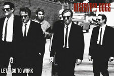 Reservoir Dogs Poster - Let's Go - New Classic Tarantino Movie Poster FP1060