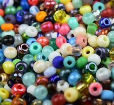 "Preciosa Czech Glass Seed Beads Size 6/0 "" MIXTURES "" Loose 50 Grams"
