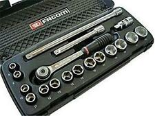 "Facom J.4APB 3/8"" Drive 8mm - 22mm 6 Point Metric Socket set"