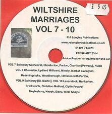 Gloucestershire Marriages Volume VII CD