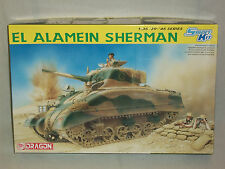 Dragon 1/35 Scale El Alamein Sherman Tank