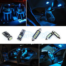 8K Ice Blue LED Kit Full Interior Error Free 11x SMD For VW Golf 4 MK IV 2000 *P