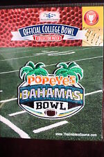 College Football Bahamas Bowl Patch 2014/15 Central Michigan, Western Kentucky