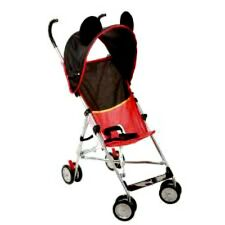 Disney Mickey Mouse Umbrella Stroller 3d With Canopy NEW Baby Compact Deluxe