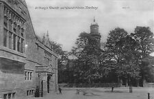 BR74664 st mary s church and church house banbury real photo    uk