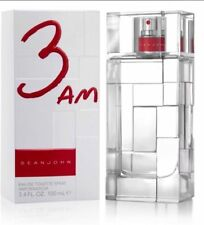 Sean John 3AM Cologne Men Eau De Toilette Spray 3.4/3.3 oz New Sealed