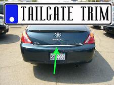 Toyota SOLARA 2004 2005 06 2007 08 Tailgate Trunk Trim