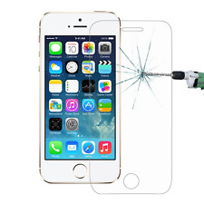 GENUINE TEMPERED GLASS FILM SCREEN PROTECTOR FOR Apple iPhone 5S 5C 5 SE x 2