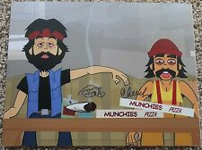CHEECH MARIN AND TOMMY CHONG SIGNED 11X14 PHOTO STONER COMEDIANS POSTER COA