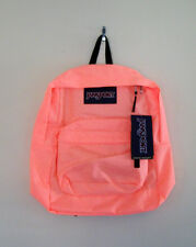 JANSPORT BRIGHT PEACH BACKPACK - SUPERBREAK - GORGEOUS!