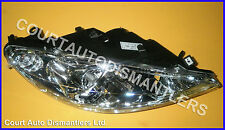 NEW peugeot 307 01-05 headlight headlamp O/S without fog lamp