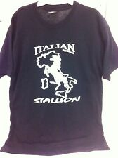 Italian Stallion Horse Shirt T-Shirt Large Men Stallions Mens Clothing Boy New