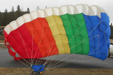 ORIGINAL PARA-FLITE STRATO-CLOUD RAM-AIR  Rainbow CANOPY  PARACHUTING SKYDIVING