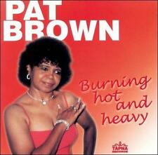 Brown, Pat: Burning Hot and Heavy  Audio Cassette
