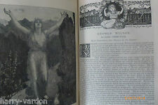 George Wilson Artist Painter Victorian Antique illustrated Article 1891
