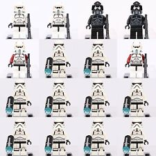 16pcs Star Wars Shadow ARF Trooper + Storm Trooper Minifigures Lego