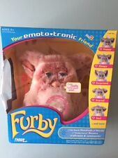 2005 Emoto-Tronic Furby Beige with Pink Belly New In Sealed Box