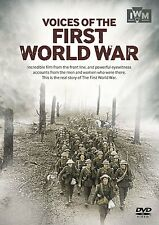 Voices of the First World War (New DVD) Great One WWI Imperial War Museum IWM