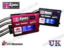 D1 SPEC RACING VOLTAGE STABILIZER IN BLACK MORE POWER JDM DRIFT nitroXukimport